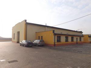 Hala magazynowa firmy Certech wraz z infrastrukturą biurową