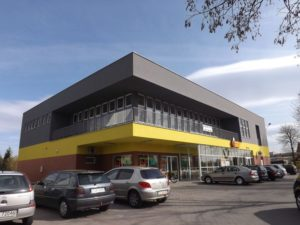 Pawilon handlowy Biedronka w Tarnowie przy ul. Matki Bożej Fatimskiej