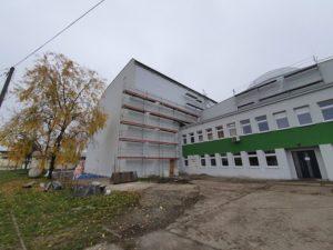 Remont hali przemysłowej wraz z budynkiem Socjalno-Biurowym