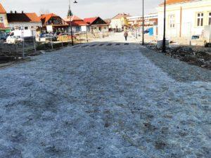 Remont drogi powiatowej w Zakliczynie